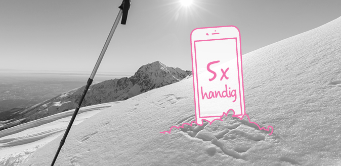 De 5 handigste wintersport apps